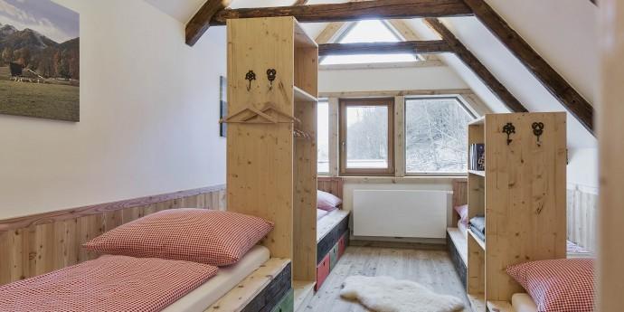Kinderzimmer im Bauernhaus