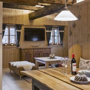 Wohnküche im Bauernhaus