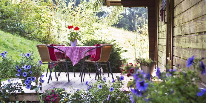 Summer idyll in the holiday apartments in the Enns valley