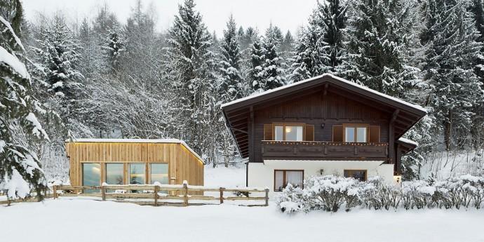 Ferienhaus mit Saunahaus