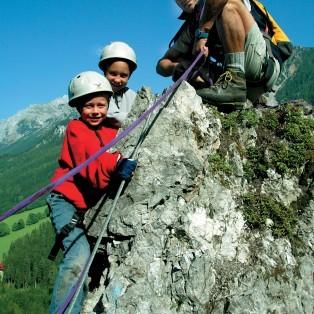 Klettern mit Kindern Schladming-Dachstein
