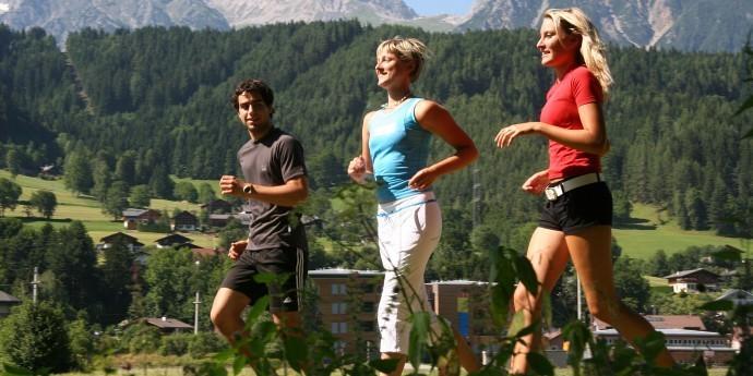Laufen in der Region Schladming-Dachstein