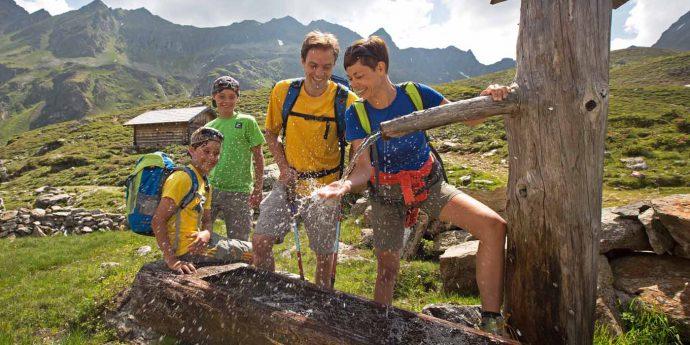 Wandern mit Familie in Schladming-Dachstein