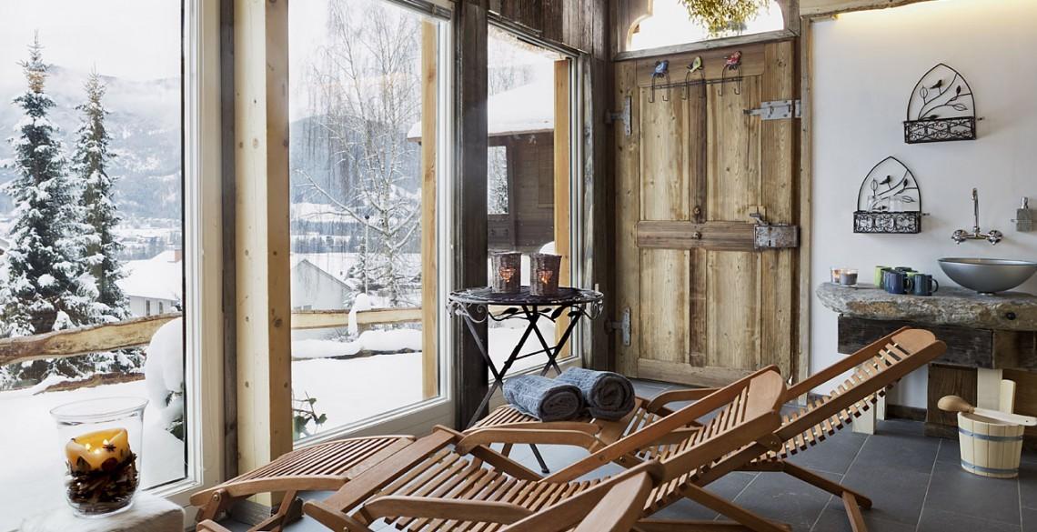 Gemütliche Sauna
