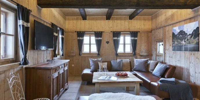 Wohnzimmer im Bauernhaus