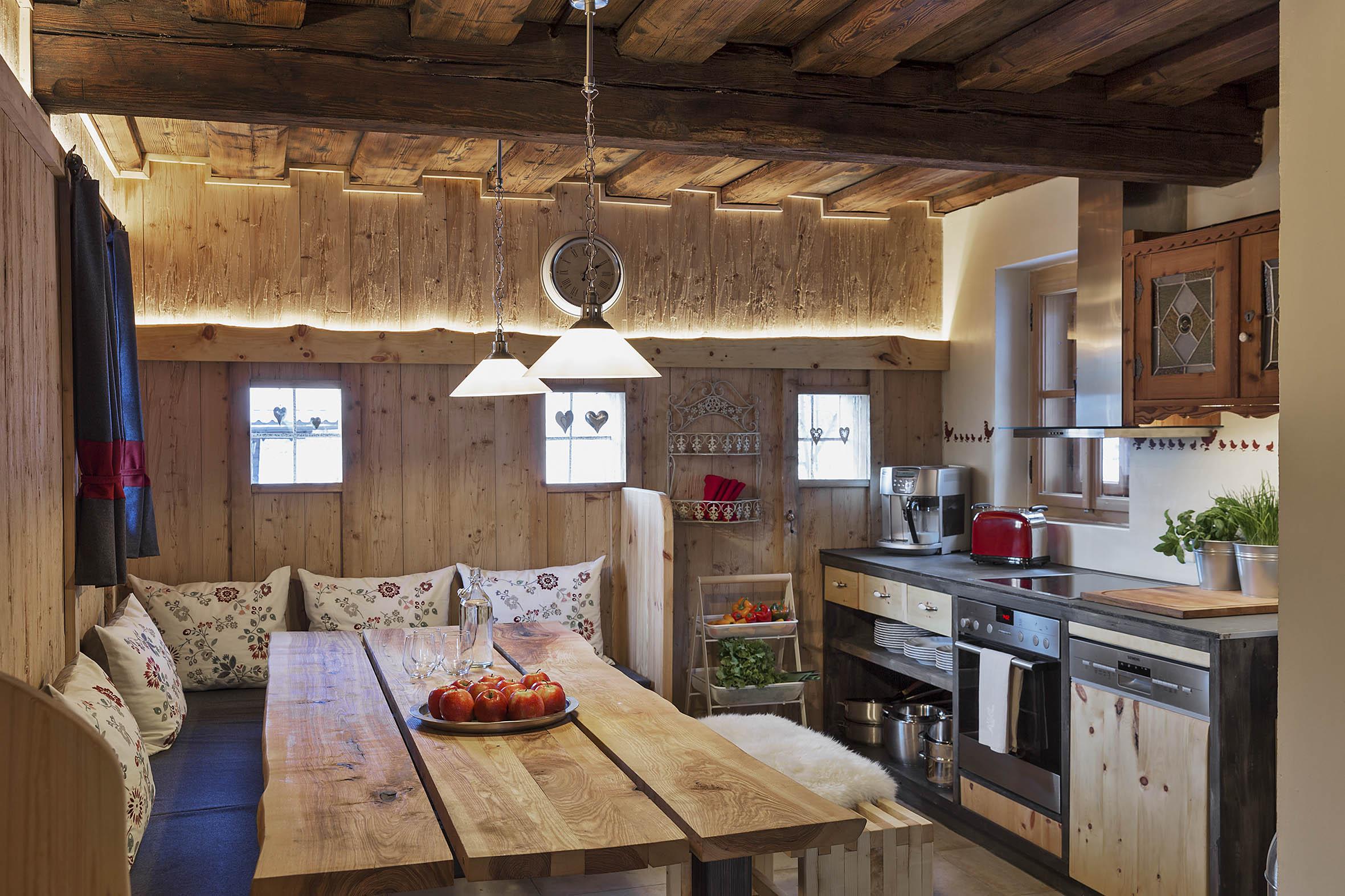 Gemütliche Küche | Gemutliche Kuche Mit Viel Platz Fur Die Ganze Familie Ferienhauser