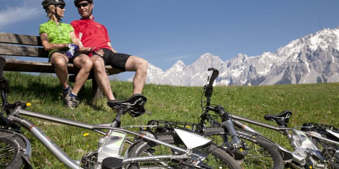 E-Mountainbike-Tour in Schladming-Dachstein