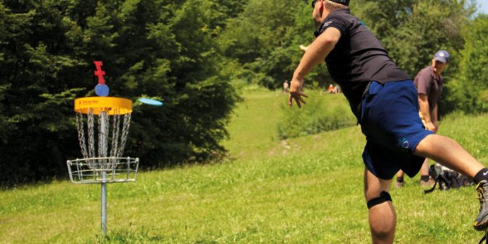 Disc Golf Parcours Hauser Kaibling