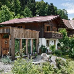Ferienhaus und Sauna