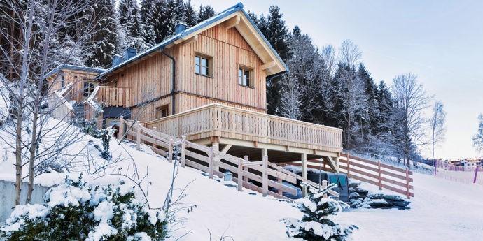 Ferienhäuser Gerhart direkt an der Skipiste Steiermark