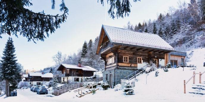 Bauernhaus und Ferienhäuser