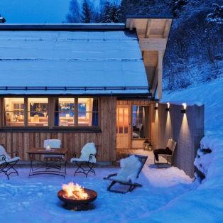 Ferienhaus mit Feuerstelle