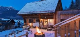 Bauernhaus mit Terrasse und Feuerstelle