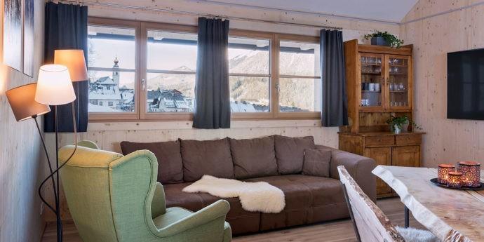 Wohnzimmer im Ferienhaus